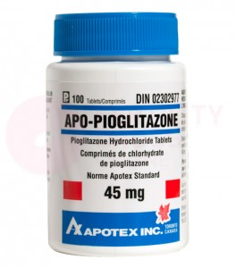 Pioglitazone 45 mg Tablets