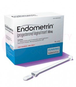 Endometrin Progesterone 100 mg