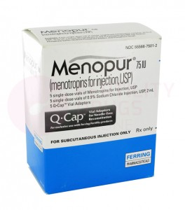 Menopur IVF Injection 75 iu
