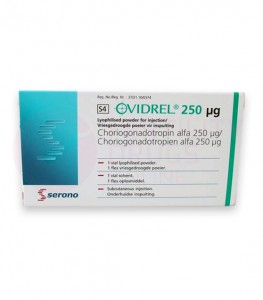 Ovidrel Injection 250 mcg