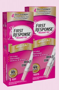 First Response Pregnancy 2 Tests